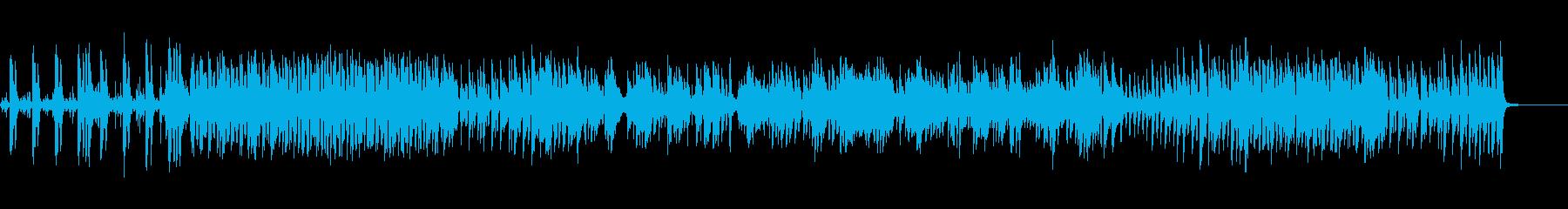 大人な雰囲気漂うジャズの再生済みの波形