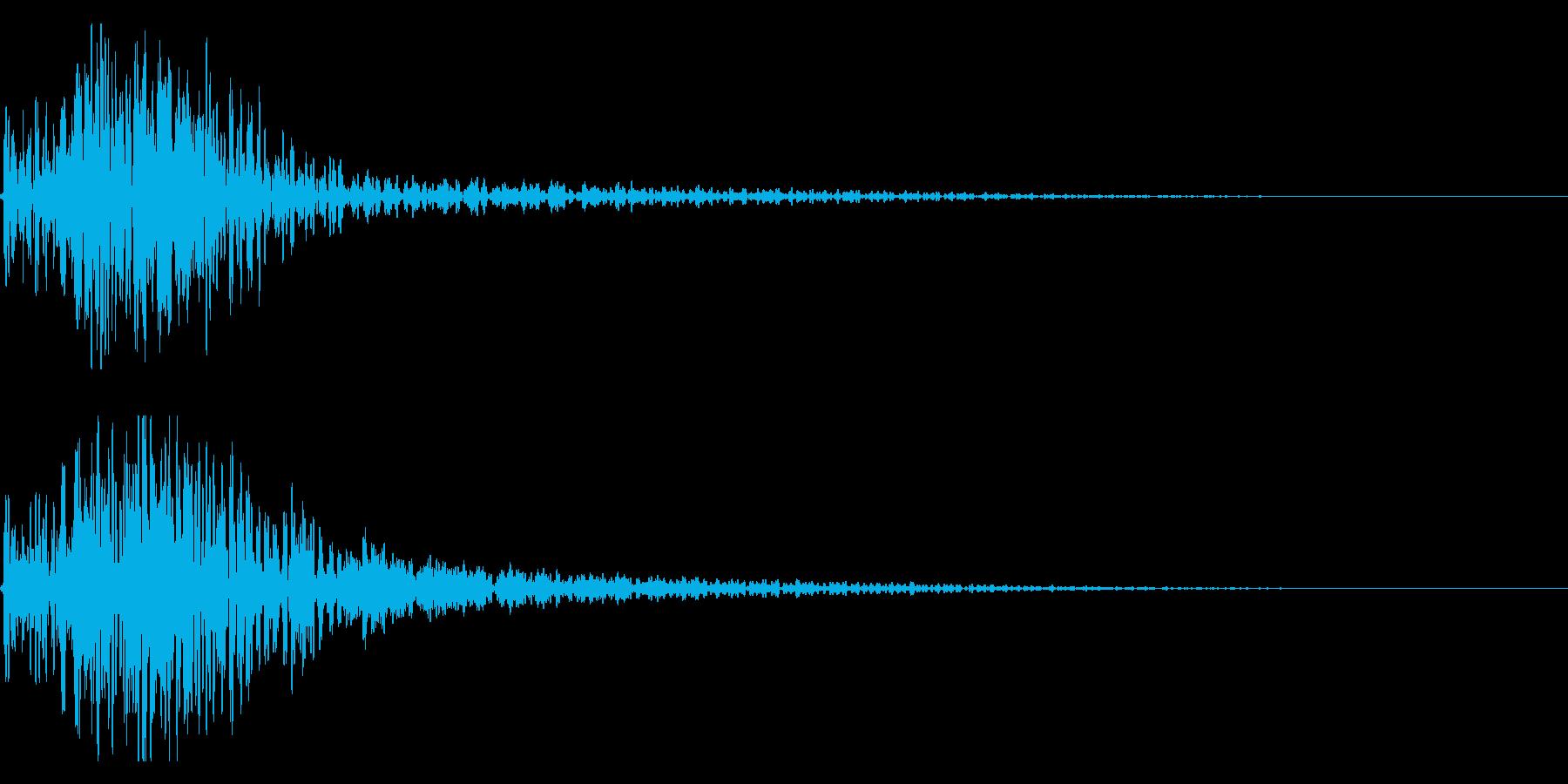 ドドン!迫力ある太鼓のインパクト! 02の再生済みの波形