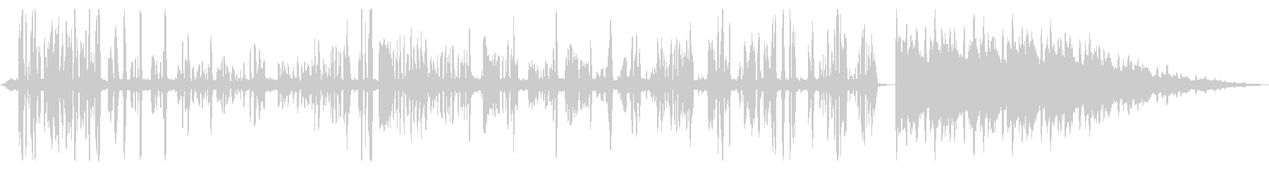 BGM向けミキシング解説動画 vol.1の未再生の波形