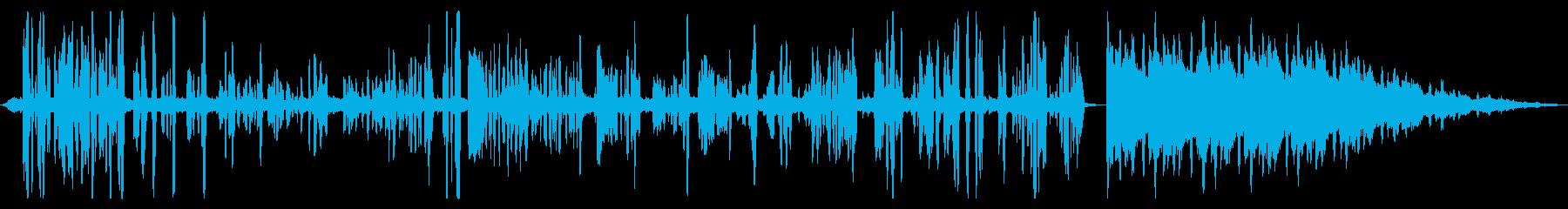 BGM向けミキシング解説動画 vol.1の再生済みの波形