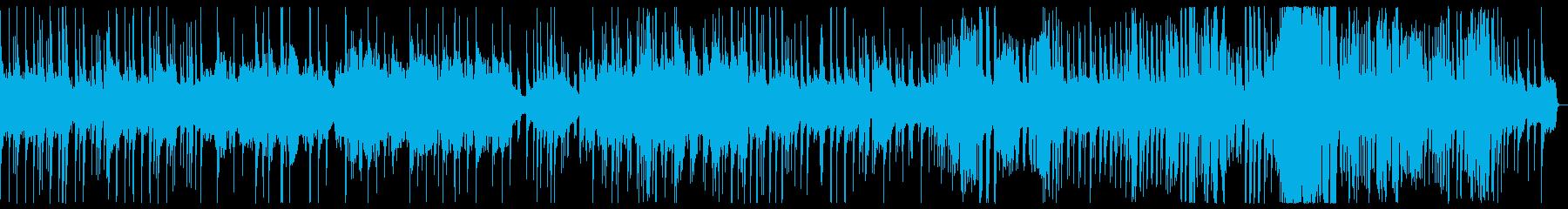千鳥の曲 神秘的なサウンドの再生済みの波形