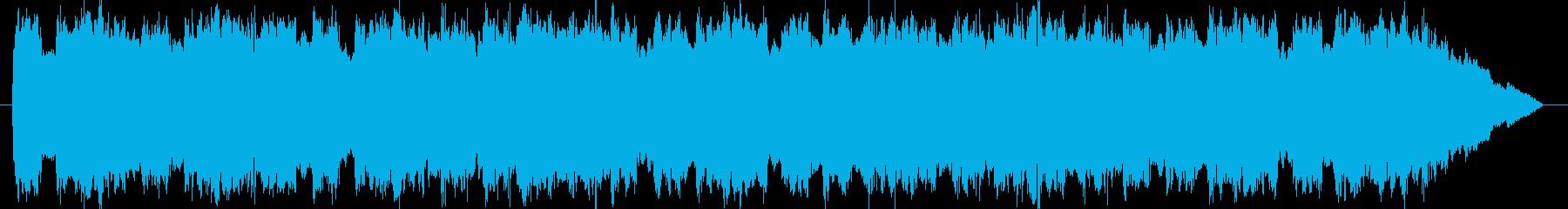 緊急自動車サイレン音 タイプBの再生済みの波形
