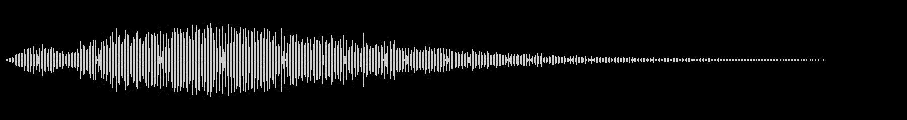 ディープローロングパスバイによる宇...の未再生の波形