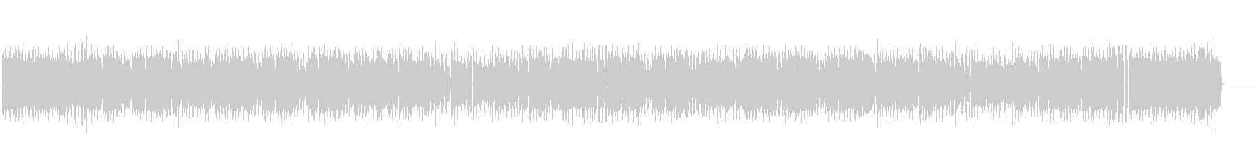 切ないファミコンの音楽の未再生の波形