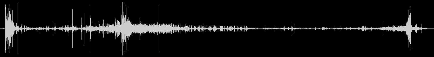 アイストレイ:スロークラッキングと...の未再生の波形