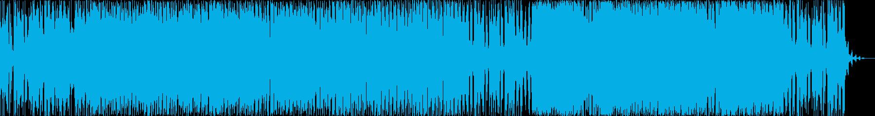 背水の陣での戦い 和風バトルの再生済みの波形
