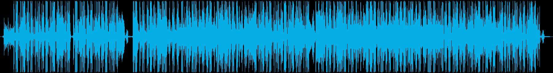ファンキーで軽薄なグルーヴに、アッ...の再生済みの波形
