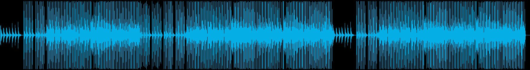 ポップダンス。メロディックの再生済みの波形