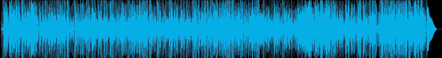 クラリネット、トランペット、トロン...の再生済みの波形