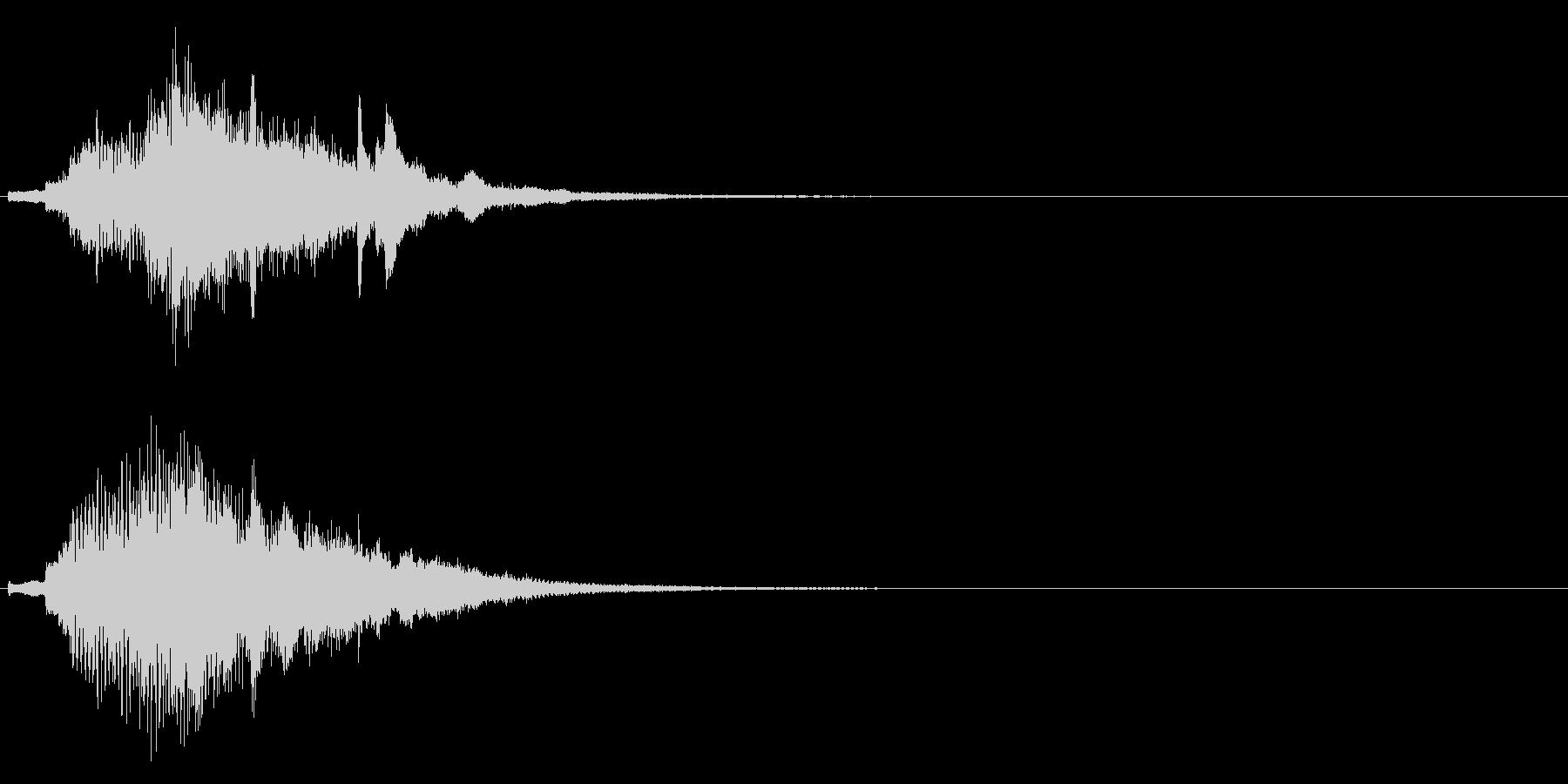 ハープ・上昇_10-2の未再生の波形