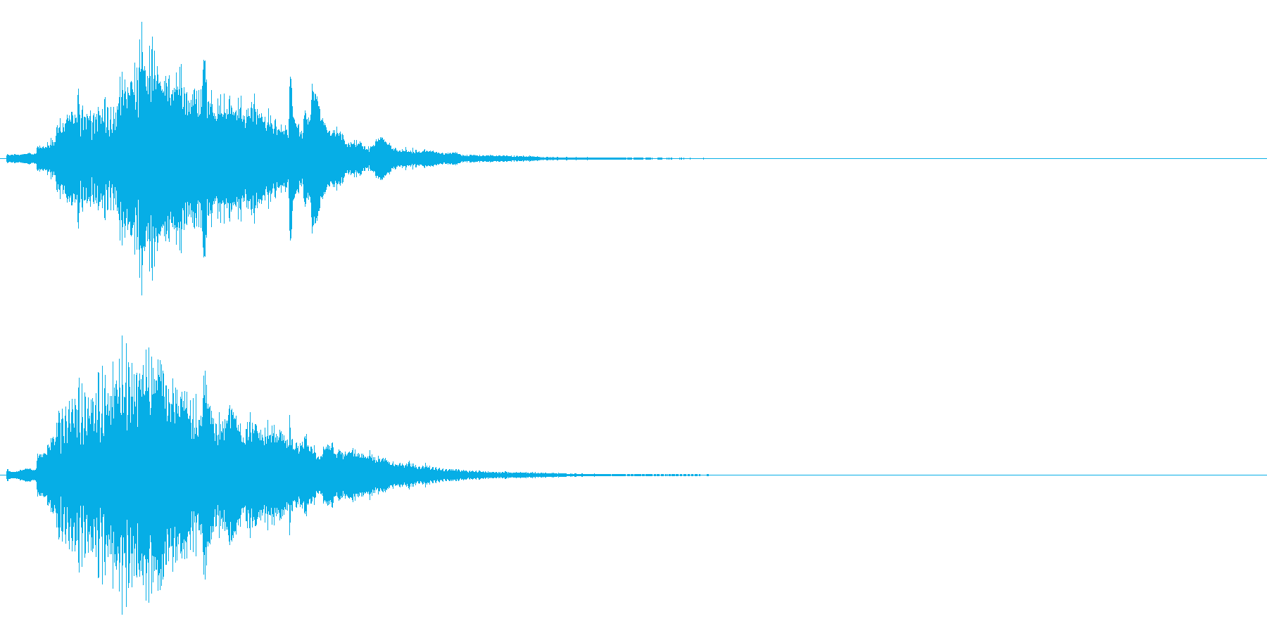 ハープ・上昇_10-2の再生済みの波形