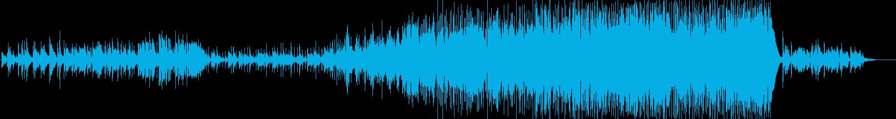 切ないバラードの再生済みの波形