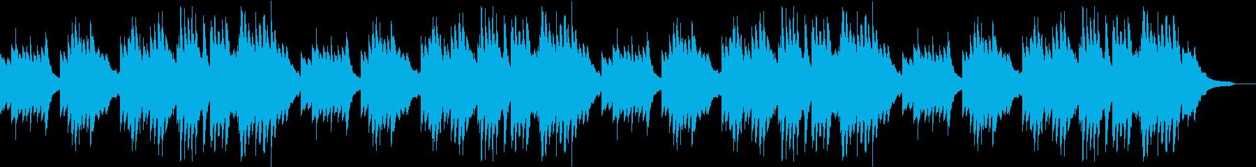 豊かな和音のうららかな秋のピアノBGMの再生済みの波形