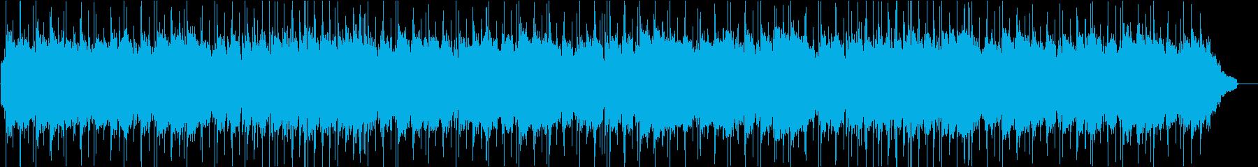 ゆったりアンニュイでお洒落な曲の再生済みの波形