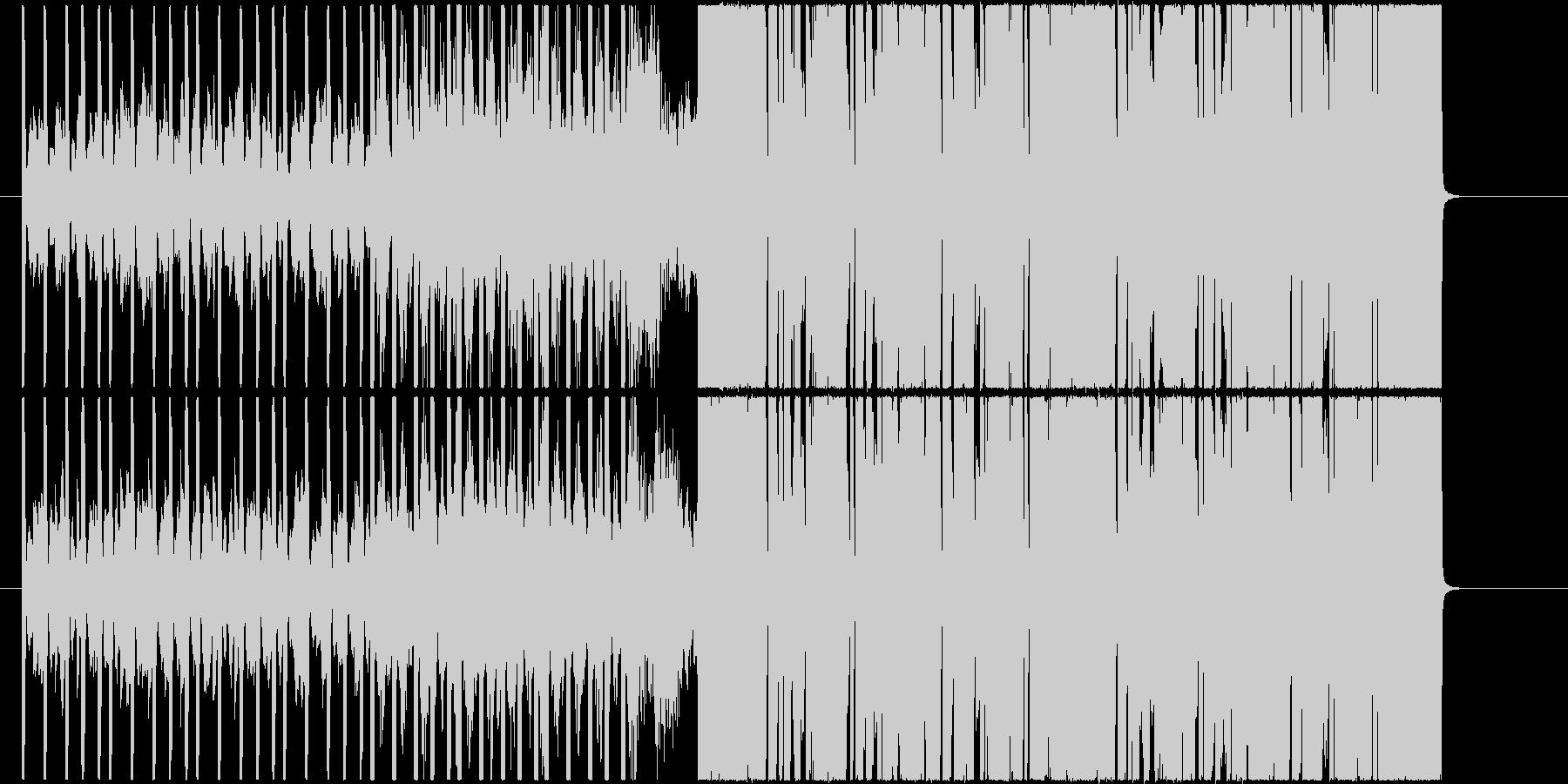 インパクト!エッジとキレのあるEDM曲!の未再生の波形