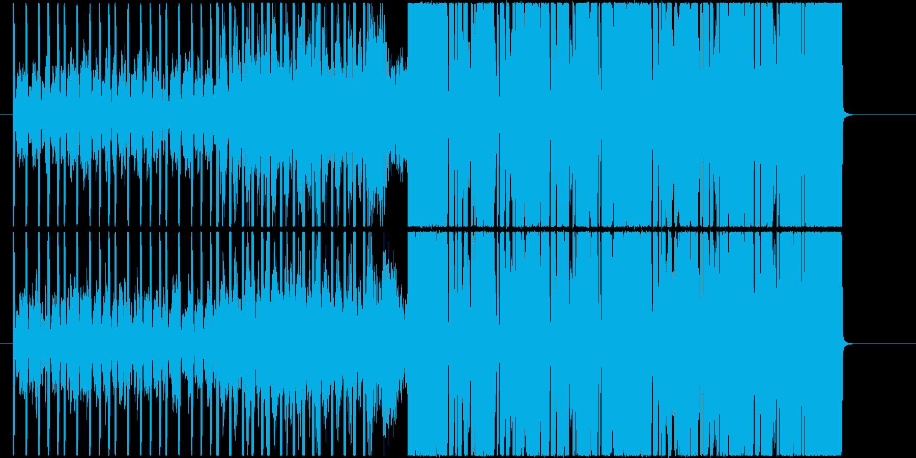 インパクト!エッジとキレのあるEDM曲!の再生済みの波形