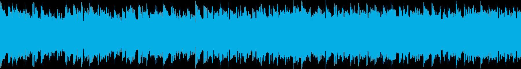 不吉 緊迫感 テクノ ループの再生済みの波形