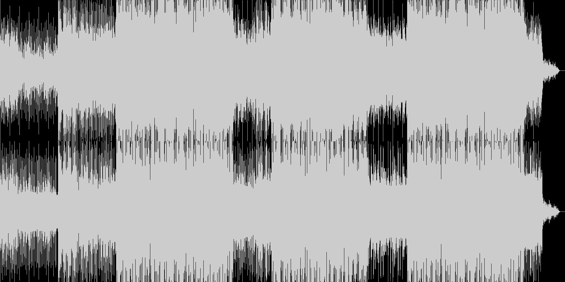 イタリアンポップの背景。の未再生の波形
