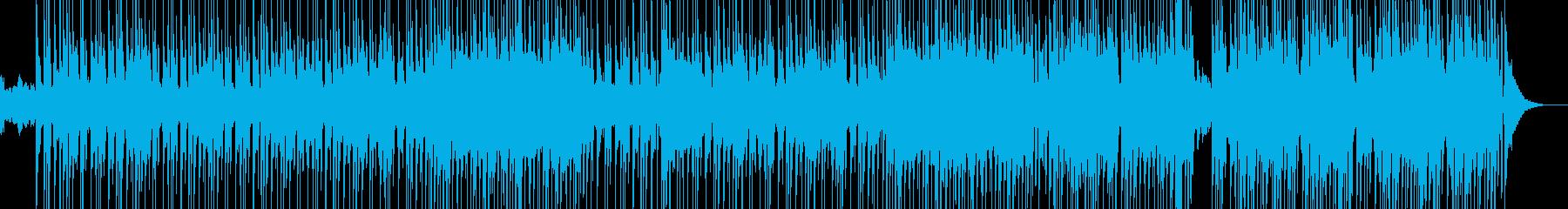 しっとり切ない雰囲気に・R&B Lの再生済みの波形