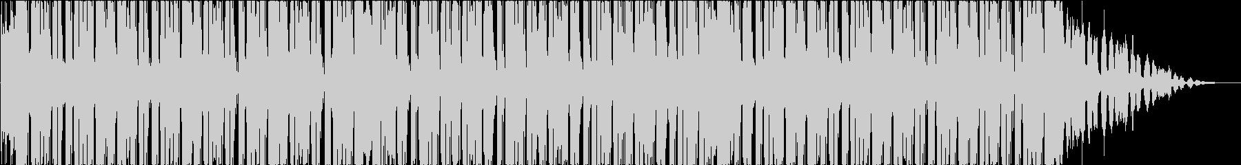 ヒップホップ、スタイリッシュ、モダンの未再生の波形