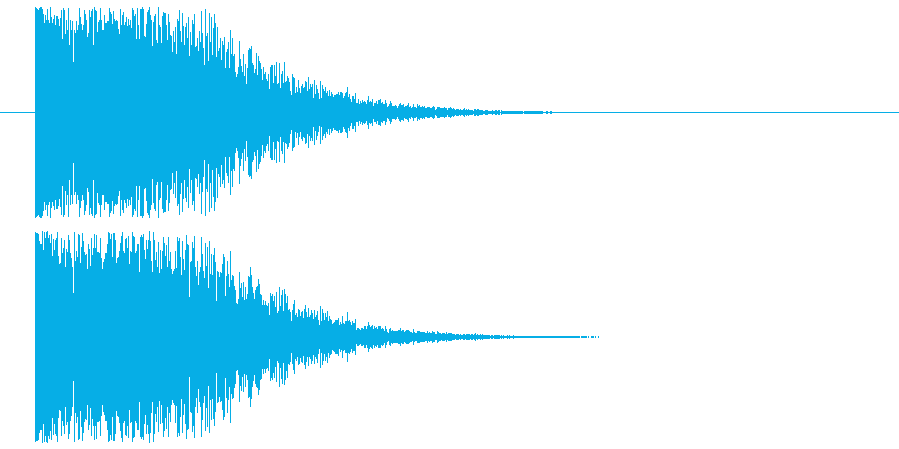 ロゴ表示_セットOKの再生済みの波形