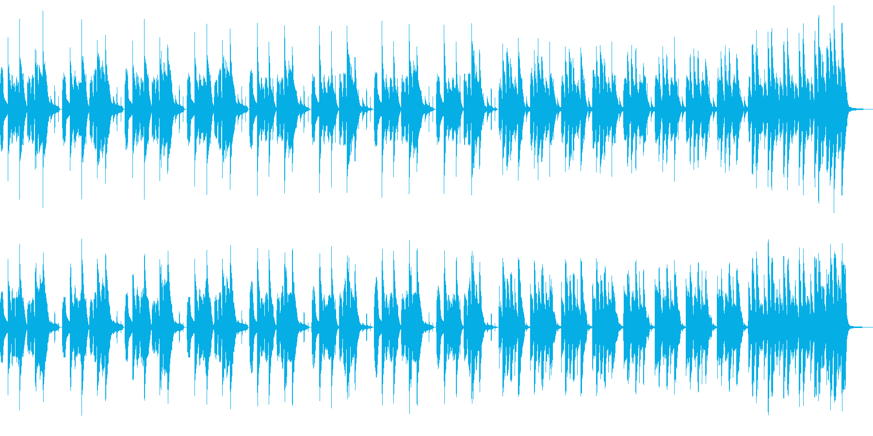 【便利】 バスクラB ずっこけ 【定番】の再生済みの波形