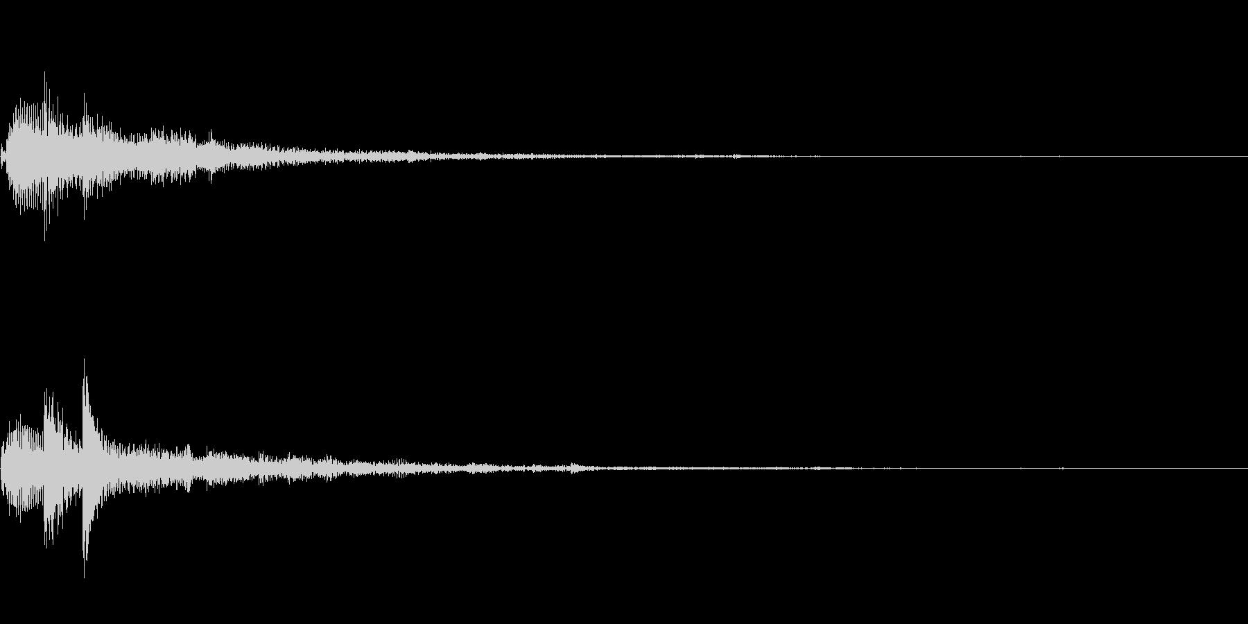 ぽろん♪(連鎖02)の未再生の波形