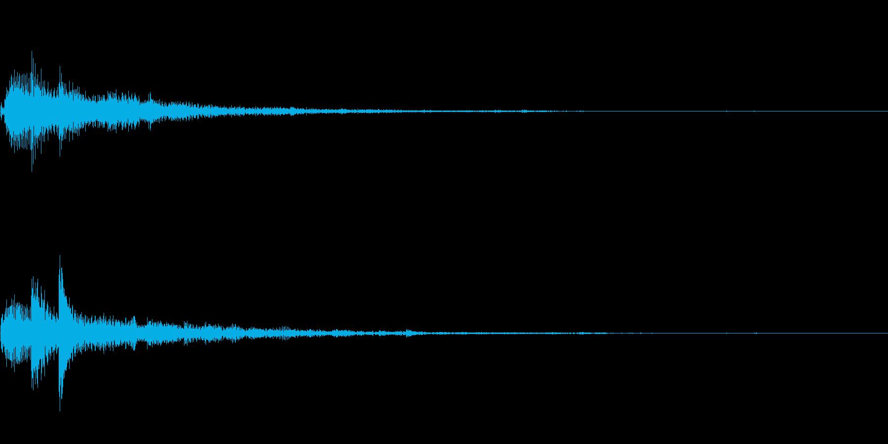ぽろん♪(連鎖02)の再生済みの波形