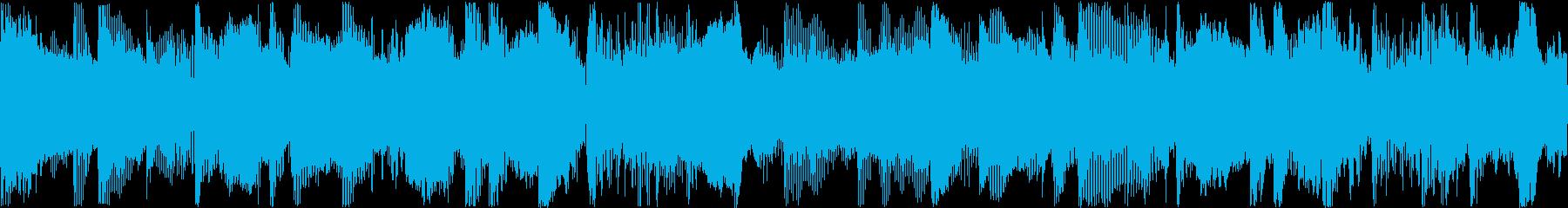 バラード、Rainy Dayの別Ver4の再生済みの波形