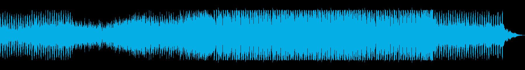 アナログシンセのユーロ系テクノの再生済みの波形