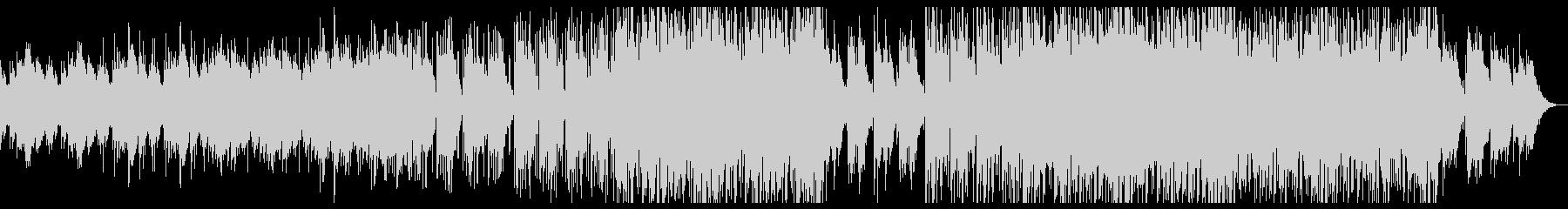 アジアンテイストのレトロテクノBGMの未再生の波形