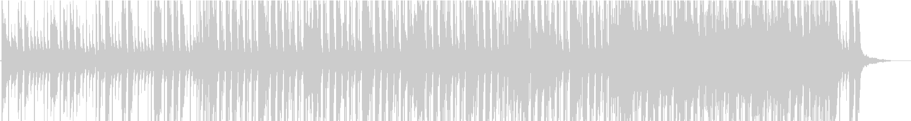 ハッピー、ポップロックの未再生の波形