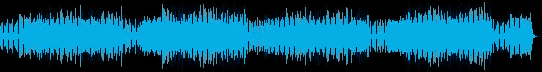 トラップ、ヒップホップ、チルアウトの再生済みの波形