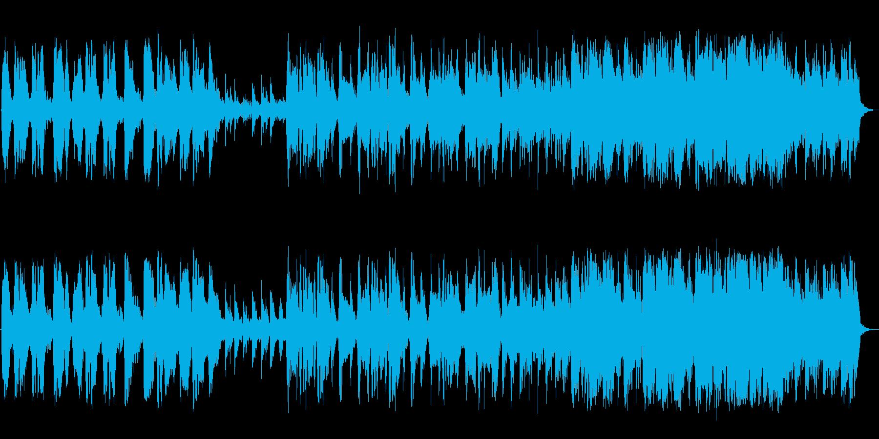 バイオリンクラシックの再生済みの波形