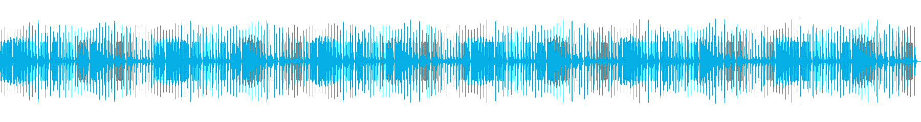 ショパン夜想曲4番のオルゴール Longの再生済みの波形