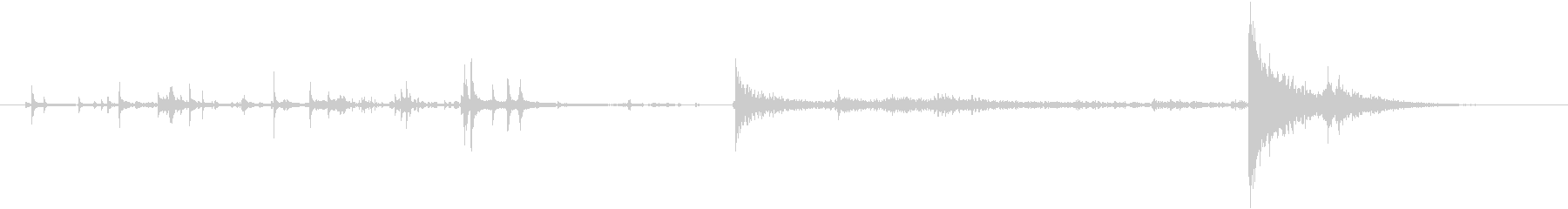 メタルセルドア:キーとスライドオー...の未再生の波形