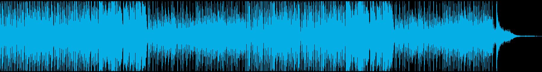 おしゃれなBGMかわいいCM コーラス抜の再生済みの波形