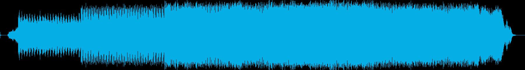 電気楽器。暗い、スペーシーな溝。 ...の再生済みの波形