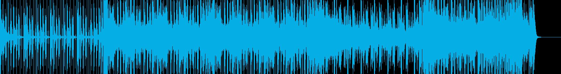 ピコピコした感じのエレクトロの再生済みの波形