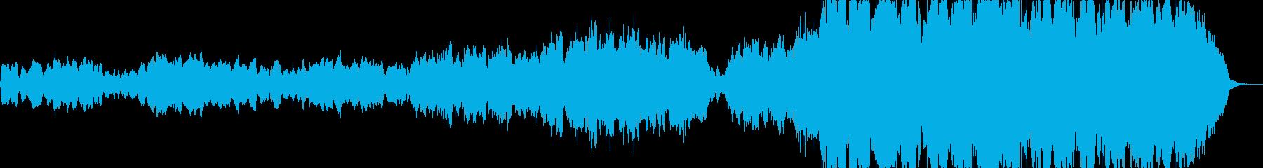 ほのぼの癒しオーケストラの再生済みの波形