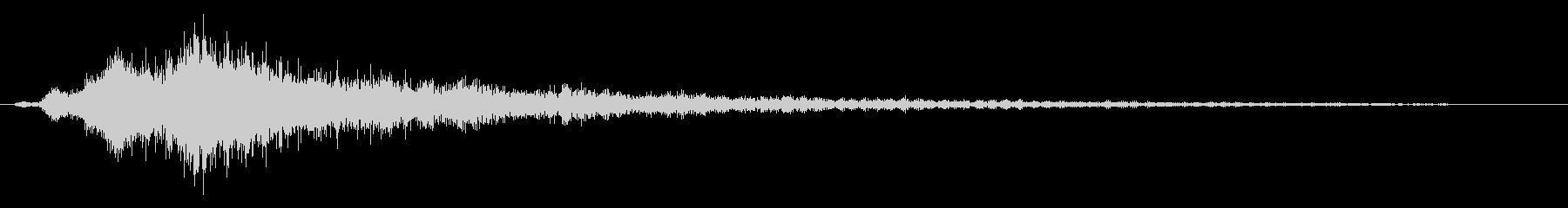打撃 カテドラルノイズドロップ02の未再生の波形