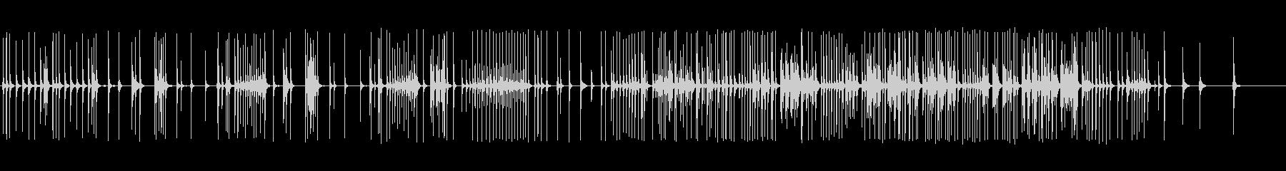 三味線126小鍛冶6合~火加減稲荷山小狐の未再生の波形
