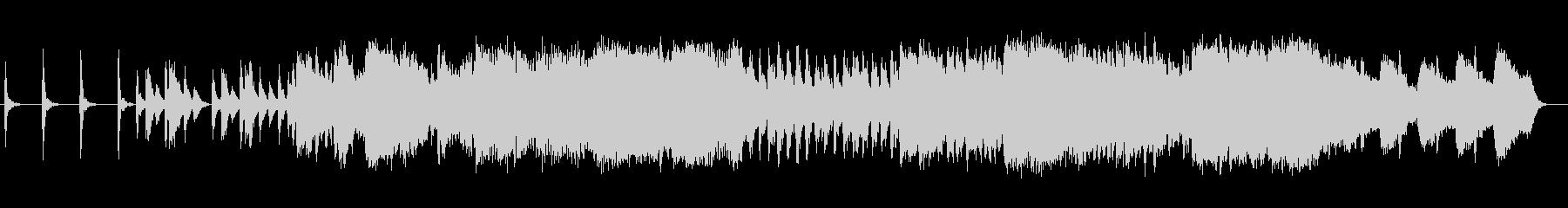 切ない和風シンセサイザーサウンドの未再生の波形