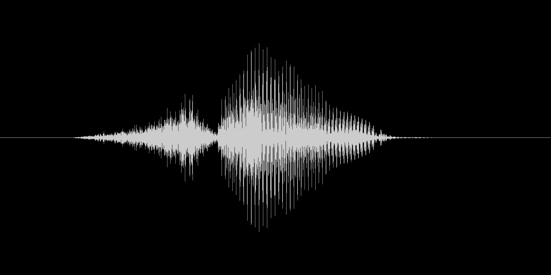 3(3、さん)の未再生の波形