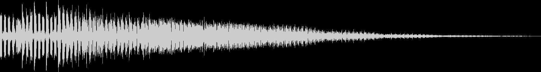アナログFX 10の未再生の波形