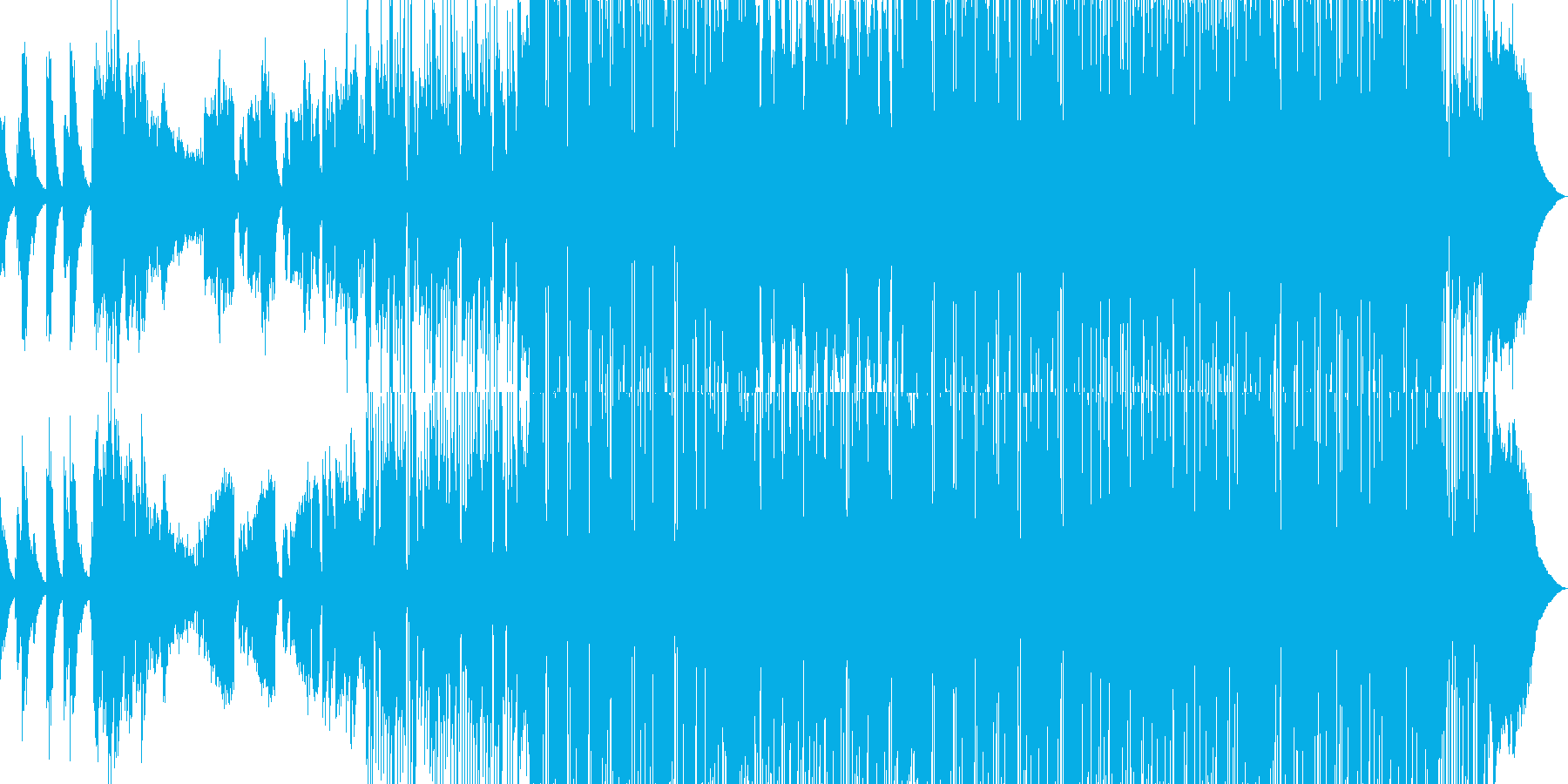 エレピが印象的なスイングポップの再生済みの波形