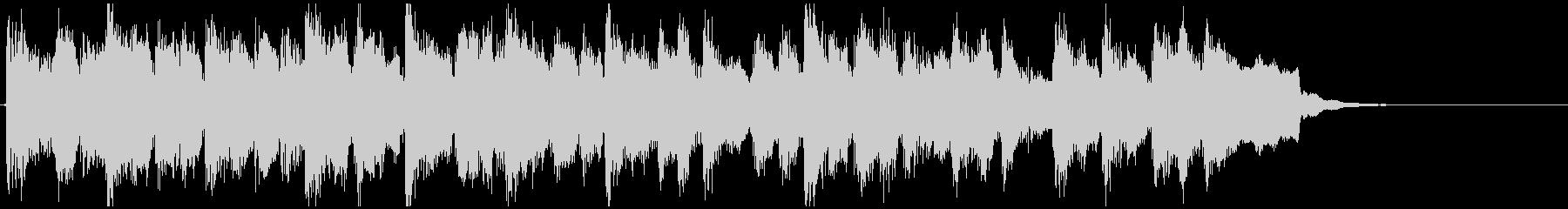 少し不思議なかっこいい系◆15秒CM向けの未再生の波形