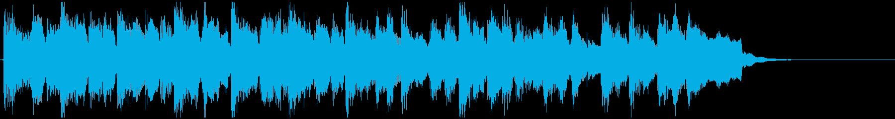 少し不思議なポストロック◆15秒CM向けの再生済みの波形