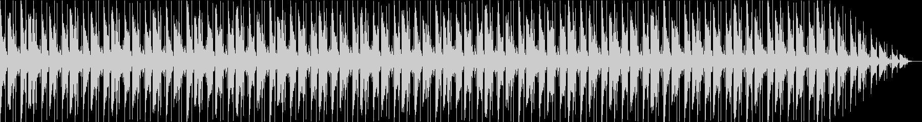 VP・CM 綺麗なディレイサウンドテクノの未再生の波形