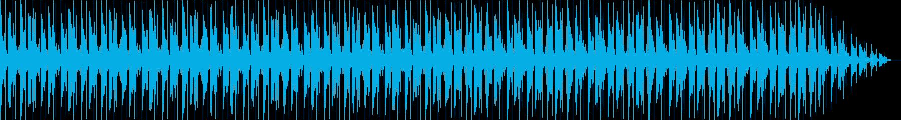 VP・CM 綺麗なディレイサウンドテクノの再生済みの波形